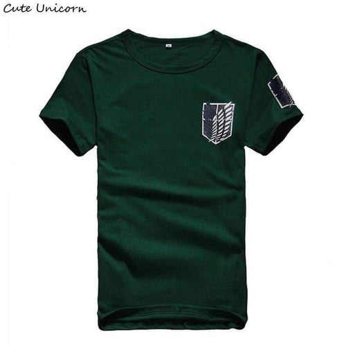 Attack On Titan t shirt mens clothing streetwear t-shirt anime - TheAnimeSupply
