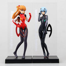 Load image into Gallery viewer, Neon Genesis Evangelion Ayanami Rei & Soryu Asuka Langley Action Figure Collectible 15cm 2pcs/set