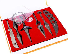 Load image into Gallery viewer, 7 PCS/Set Naruto Shippuden Ninja Metal Tools