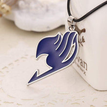 Load image into Gallery viewer, Alloy Fairy Tail Guild Sign Pendant Necklace 5 Colors - TheAnimeSupply