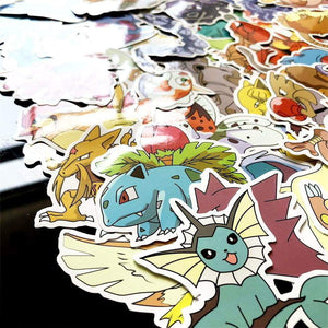 80pieces Pokemon Stickers - TheAnimeSupply
