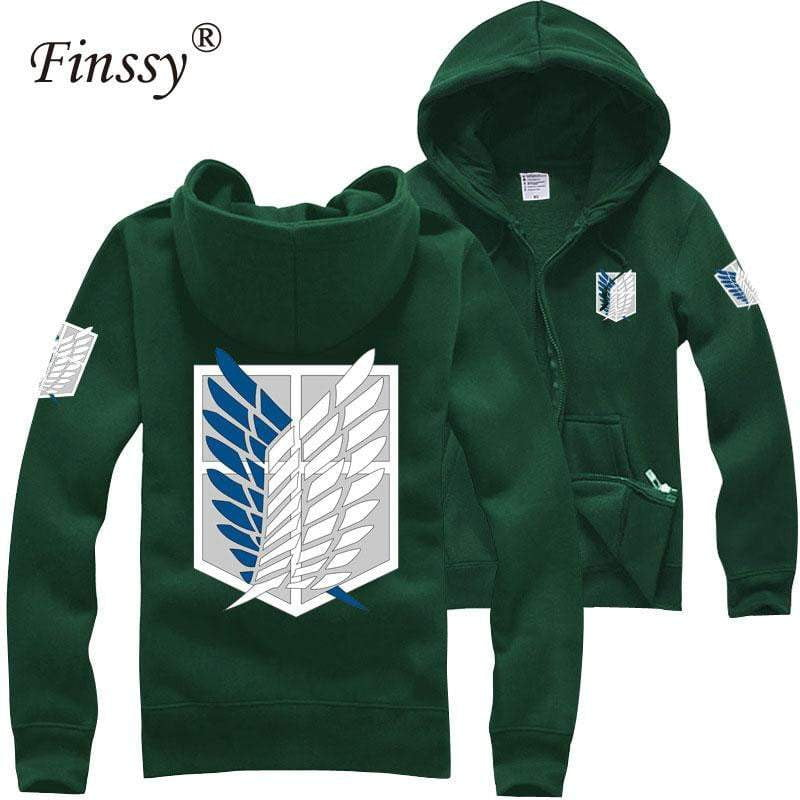Japan shingeki no kyojin Attack on titan hoodies - TheAnimeSupply