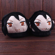 Load image into Gallery viewer, Anime Black Butler Sebastian Michaelis Adult Plush Slippers - TheAnimeSupply