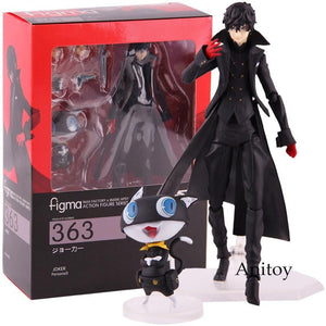 Figma 363 Persona 5 Action Figure Shujinkou and Morgana Joker
