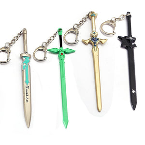Sword Art Online Keychain Swords