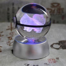 Load image into Gallery viewer, Pokemon Crystal 3d Lamp (Diameter 5cm)