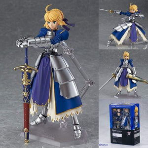 Fate Stay Night Saber Figurine - 14cm PVC Model - TheAnimeSupply
