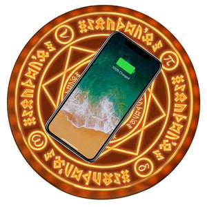 Fullmetal Alchemist Transmutation Circle Qi Fast Wireless Charger - TheAnimeSupply