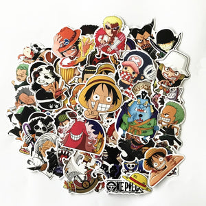 One Piece Stickers 61pcs