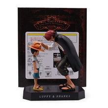 Load image into Gallery viewer, Anime One Piece Shanks & Luffy Figure - TheAnimeSupply