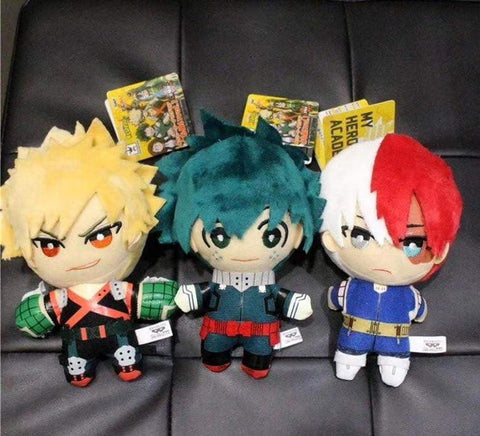 My Hero Academia Plush 15CM Soft Stuffed dolls - TheAnimeSupply
