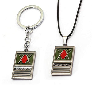 Hunter License card Keychain and Necklace - Hunter X Hunter - TheAnimeSupply