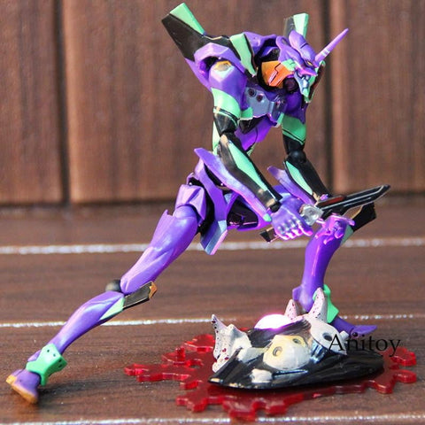Revoltech Neon Genesis Evangelion Test Type-01 EVANGELION EVOLUTION with LED Light 16cm Action Figure Collectible