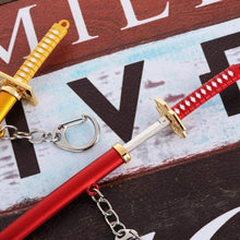Load image into Gallery viewer, One Piece Zoro: Samurai Katana Keychain - TheAnimeSupply