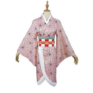 Anime Demon Slayer Kimetsu no Yaiba Cosplay Costume Kamado Tanjirou Kamado Nezuko Agatsuma Zenitsu Tomioka Giyuu Cosplay Costume - TheAnimeSupply