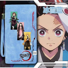 Load image into Gallery viewer, Anime Demon Slayer: Kimetsu no Yaiba Wallet Short Long Purse Unisex Card Holder Billfold Wallet - TheAnimeSupply