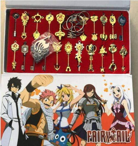 Fairy tail Constellation Celestial Key Ring 22 set - TheAnimeSupply
