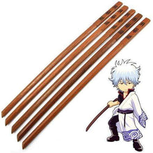 Load image into Gallery viewer, JAPANESE ANIME GINTAMA SAKATA GINTOKI TOYAKO ZATOICHI NINJA WOODEN SWORD - TheAnimeSupply