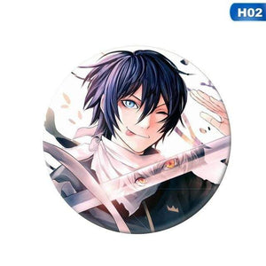 Noragami Aragoto Badge Brooch Pin Collection Badge For Backpack Clothes - TheAnimeSupply