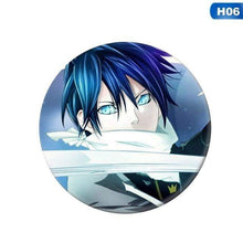 Load image into Gallery viewer, Noragami Aragoto Badge Brooch Pin Collection Badge For Backpack Clothes - TheAnimeSupply