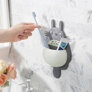 My Neighbour Totoro Toothbrush Organizer Wall Mount