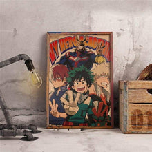Load image into Gallery viewer, My Hero Academia Vintage Poster 45.5x31.5cm - TheAnimeSupply