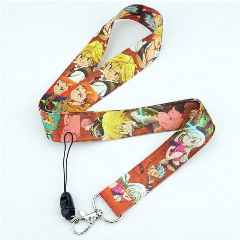 The Seven Deadly Sins Neck Strap Lanyards for keys ID Card - TheAnimeSupply