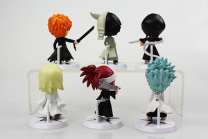Mini Bleach Figures - 6pcs Set