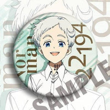 Load image into Gallery viewer, The Promised Neverland Anna Emma Norman Gilda Ray Phil Badge