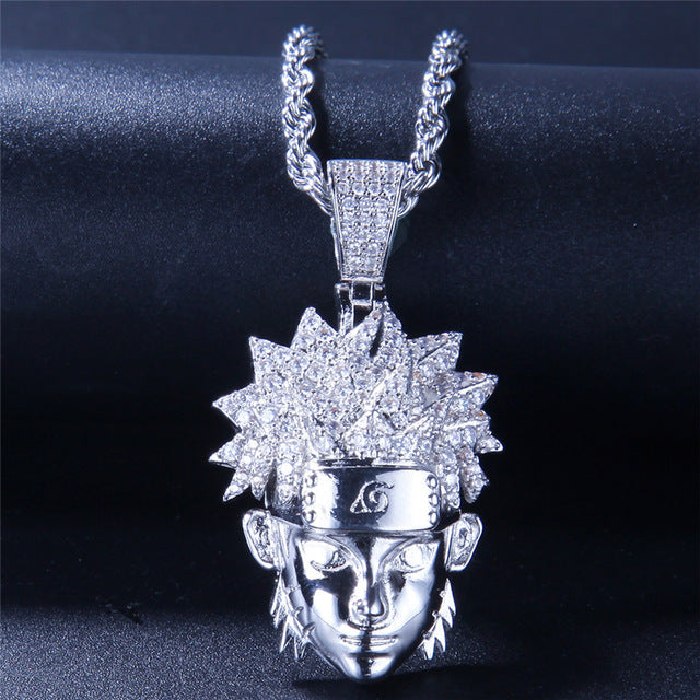 Naruto Uzumaki Pendant Necklace Chain