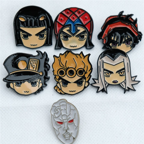Jojo's Bizarre Adventure Metal Pin Badge