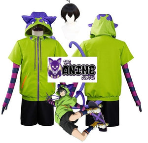 SK8 the Infinity Miya Chinen Cosplay Hoodie & Costume Set (Pick one)