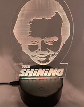 Load image into Gallery viewer, The Shining Night Light Jack Torrance Desk Light