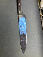 Load image into Gallery viewer, Fright Night 1985 80's Horror Kitchen Knife With/Without Laser Engraved Stand