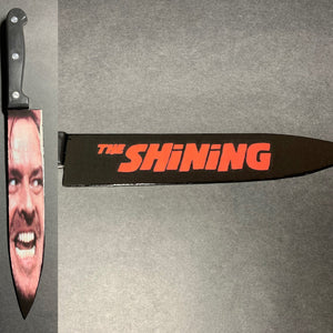 The Shining Stanley Kubrick Kitchen Knife With/Without Laser Engraved Stand
