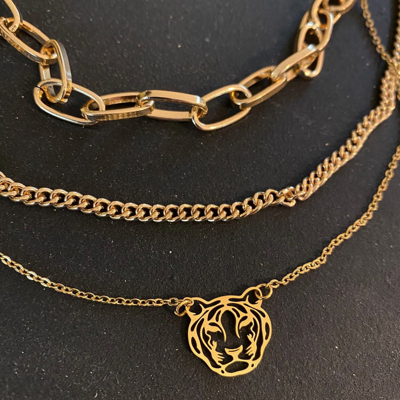 Tiger Queen Necklace