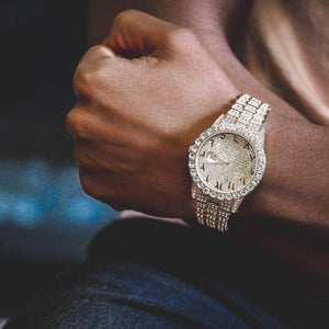 DATEJUST ARABIC SCRIPT WATCH ROSE GOLD