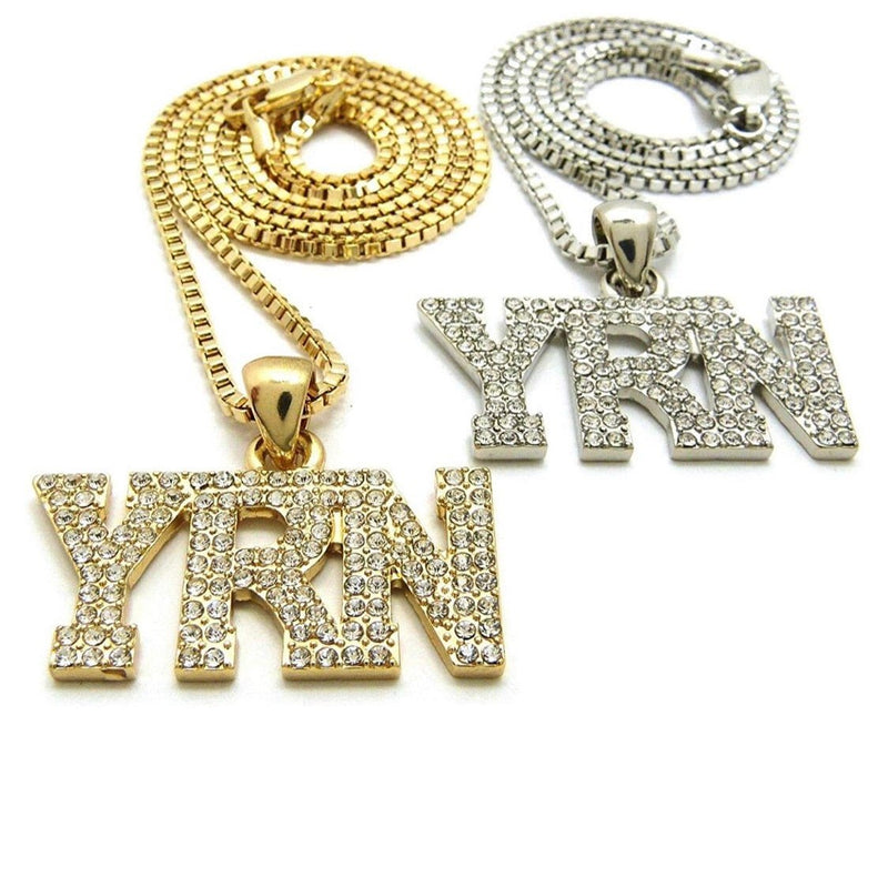 YRN PENDANT WITH FRANCO CHOKER CHAIN (by OFFSET,TAKEOFF)