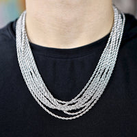 3MM STAINLESS STEEL ROPE CHAIN
