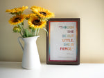 Framed Shakespeare Quote Print