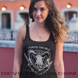 I F****d The Devil Unisex Tank Top