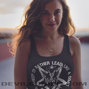 Lead Like a Goat Unisex  Tank Top