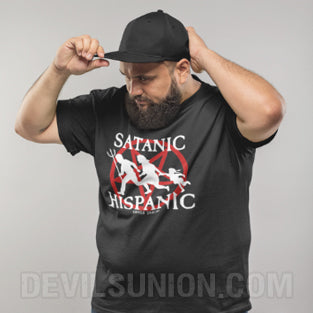 Satanic Hispanic Short-Sleeve Unisex T-Shirt
