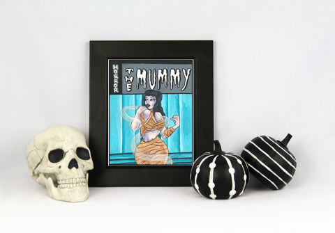 "The Mummy 8.5x11"" Print"