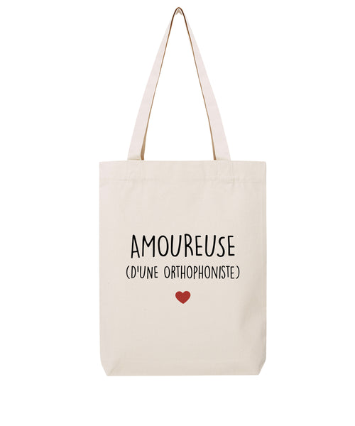 Tote bag Amoureuse d'une Orthophoniste