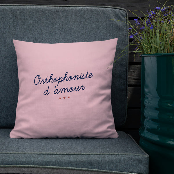 Coussin Orthophoniste d'amour