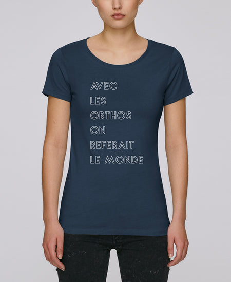 T-shirt Keep Calm Orthophoniste