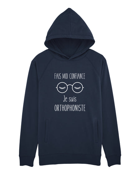 Sweat capuche Je te diagnostique