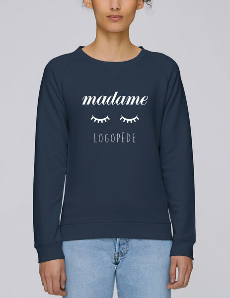 Sweat madame cils Logopède