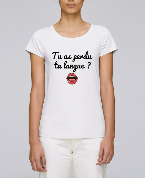 T-shirt Langue perdue